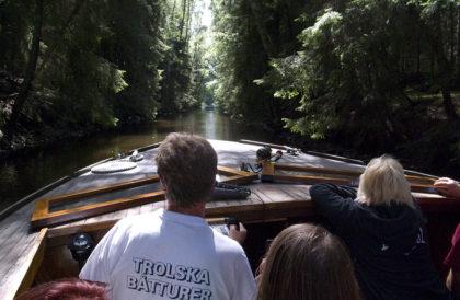 Trolska boat trip - Boot