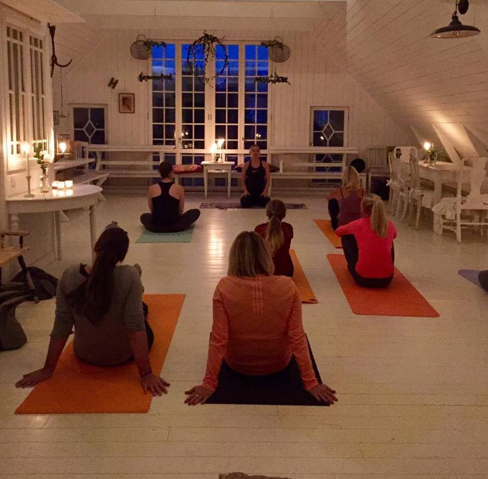 mindfulness Vättern Yoga