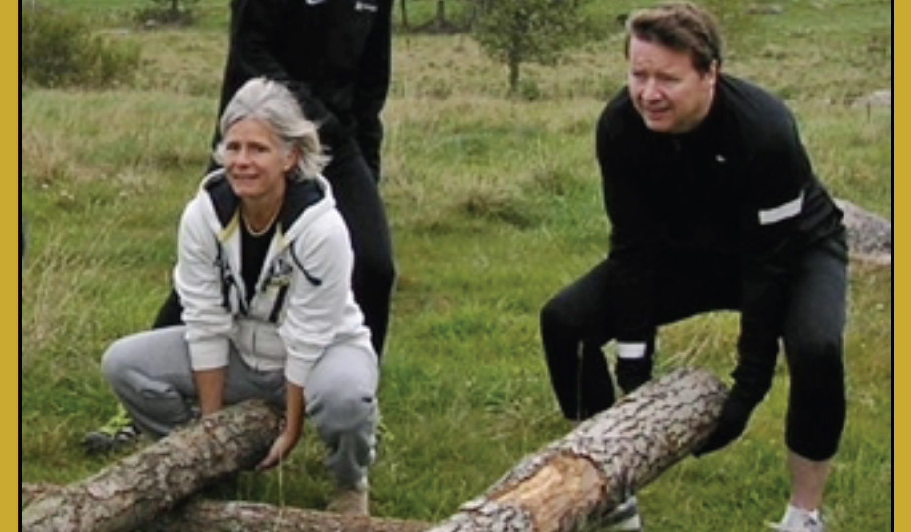 Go fitness on motorhome round-trip vacaciones en Suecia cultura escandinava Familia Amigos viajar autocaravana naturaleza deporte y fitness