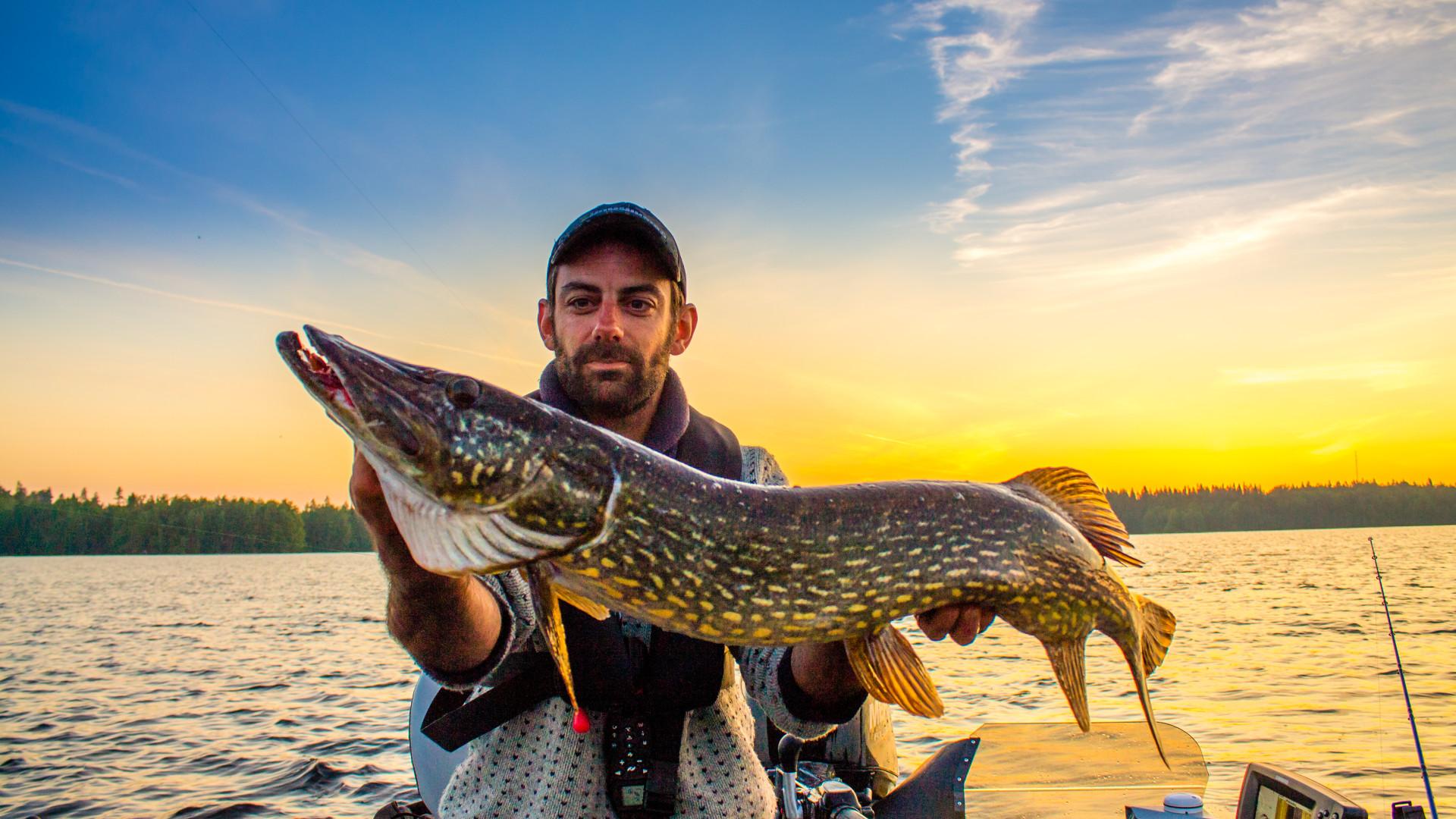 Henrik the fishing guide vacaciones en Suecia cultura escandinava Familia Amigos viajar autocaravana naturaleza pesca en Suecia