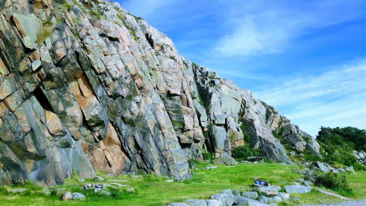Rock climbing Småland Unique landscapes sweden geology