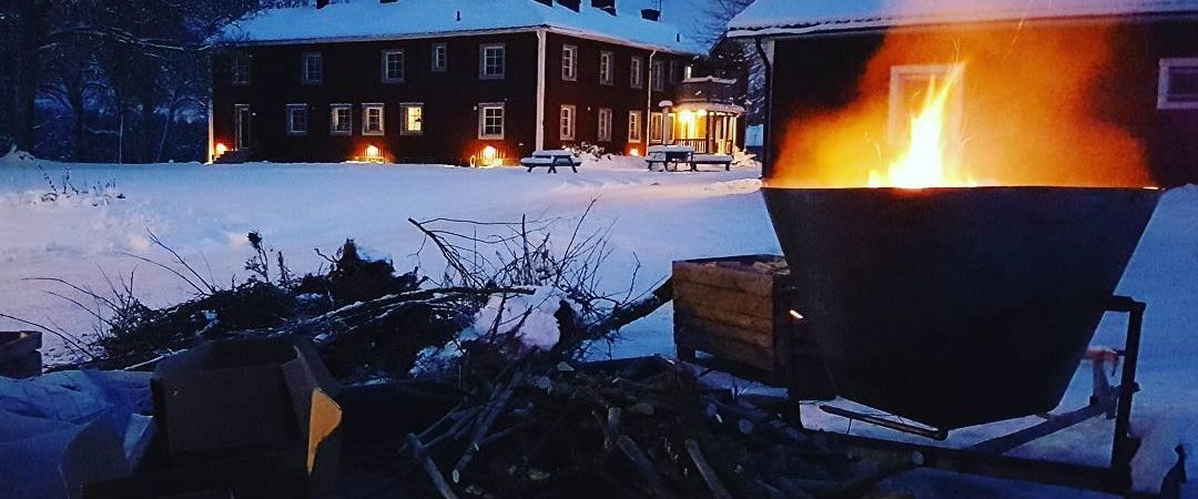 biochar sweden production idyll village