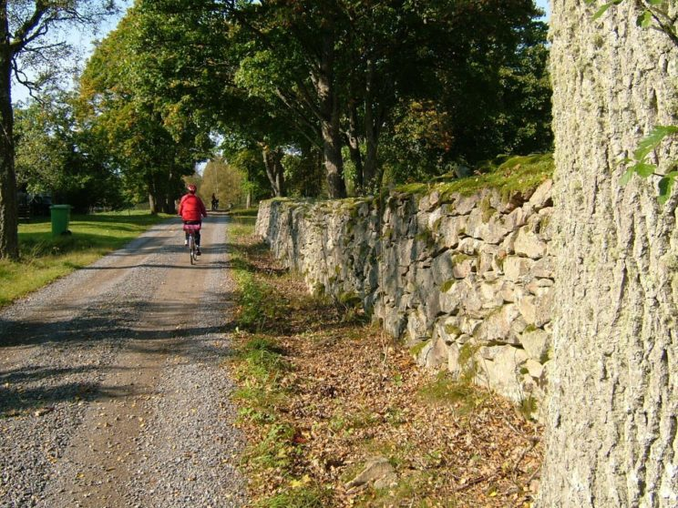 cycling sweden trail route