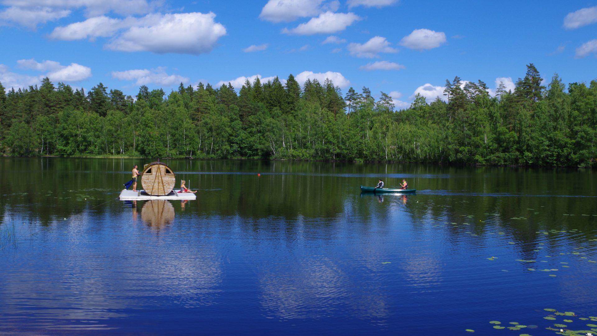 eco-tourism, wellness nature trip Sweden