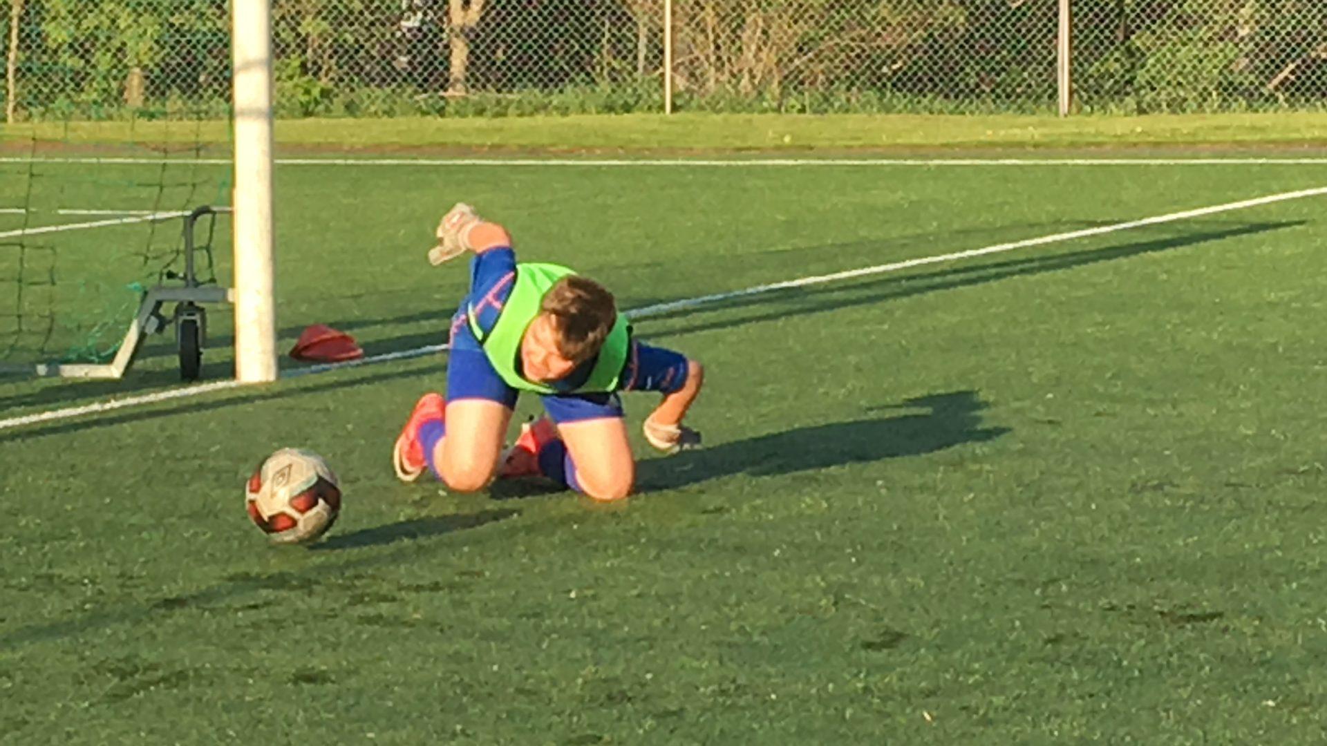 Football activities fun camping sweden
