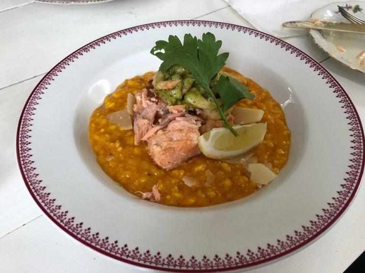 Lustfyllt habo sweden vättern restaurant risotto