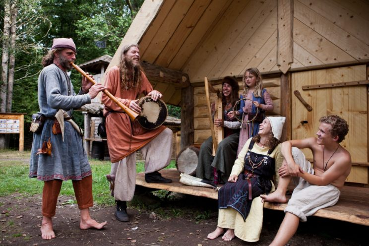 Storholmen Village sweden character stories