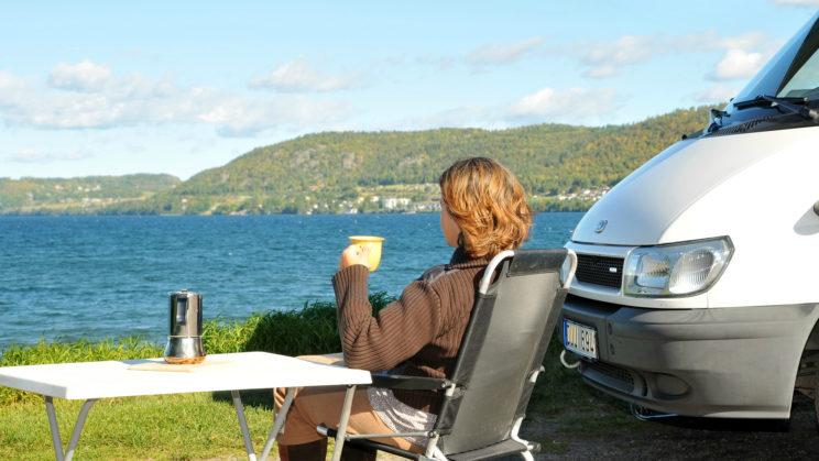 motorhome caravan holiday trip relax