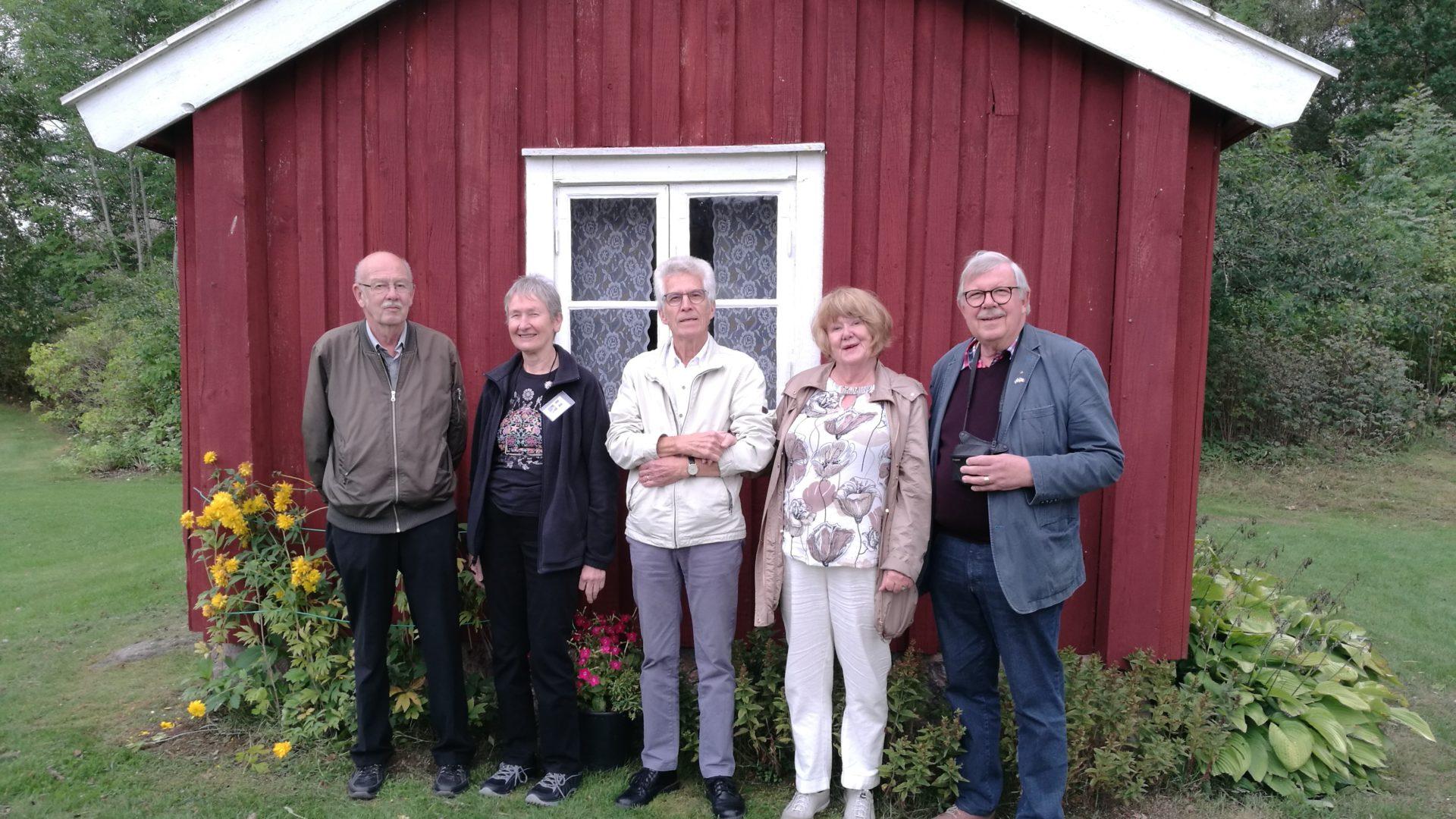 Genealogy tour swedish living relatives