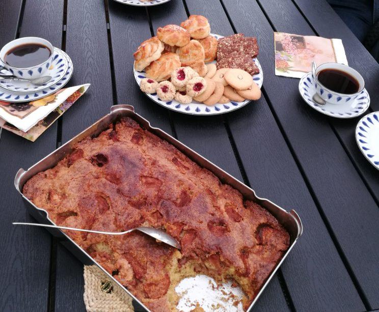 Swedish Fika meal food talk relatives genealogy tour