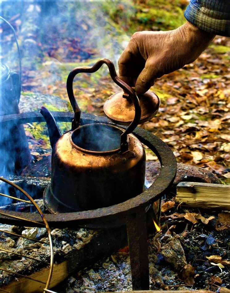 outdoor cooking tea swedish