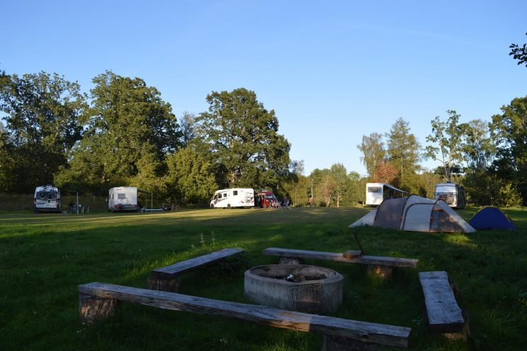 camping glamping sweden countryside rural south motorhome