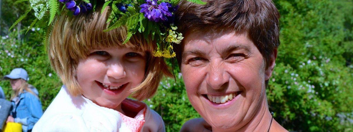 Swedish midsummer tradition