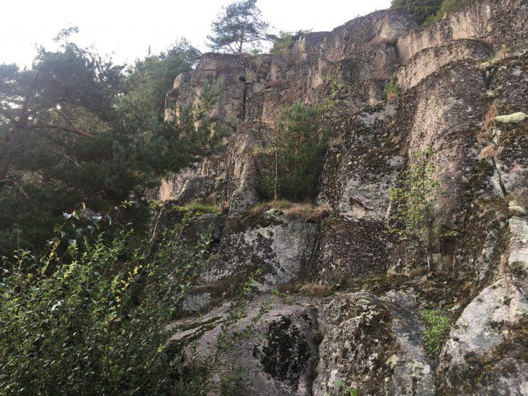 geology motorhome trip in Sweden and Norway